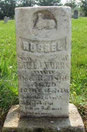 LANDERS, RUSSEL - Madison County, Iowa   RUSSEL LANDERS