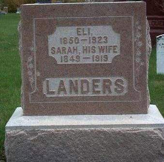 LANDERS, SARAH - Madison County, Iowa | SARAH LANDERS