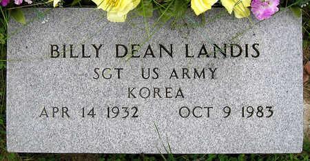 LANDIS, BILLY DEAN - Madison County, Iowa | BILLY DEAN LANDIS