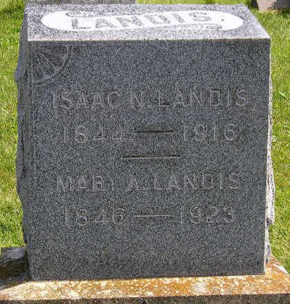 LANDIS, ISAAC NEWTON - Madison County, Iowa | ISAAC NEWTON LANDIS