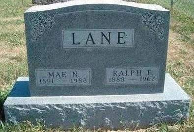 LANE, MAE NAOMI - Madison County, Iowa | MAE NAOMI LANE