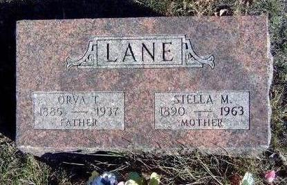 LANE, ORVA THOMAS - Madison County, Iowa | ORVA THOMAS LANE