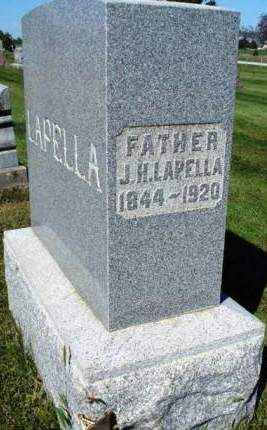 LAPELLA, JOHN H. - Madison County, Iowa   JOHN H. LAPELLA