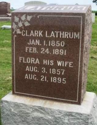 LATHRUM, CLARK MILES - Madison County, Iowa | CLARK MILES LATHRUM