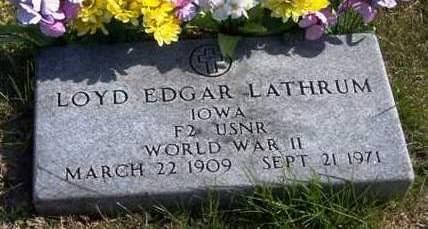 LATHRUM, LOYD EDGAR - Madison County, Iowa | LOYD EDGAR LATHRUM
