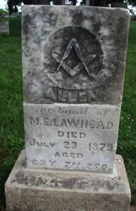 LAWHEAD, ALLEN - Madison County, Iowa | ALLEN LAWHEAD