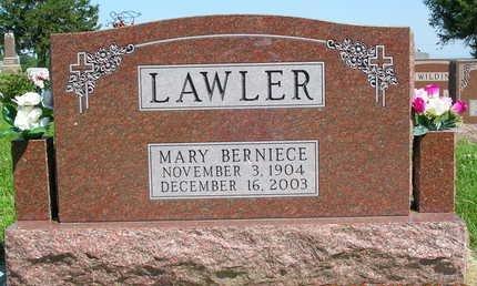 WIEDMANN, MARY BERNICE - Madison County, Iowa   MARY BERNICE WIEDMANN