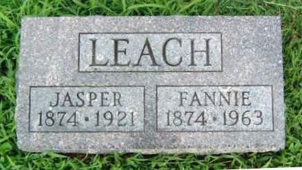 LEACH, JASPER - Madison County, Iowa | JASPER LEACH