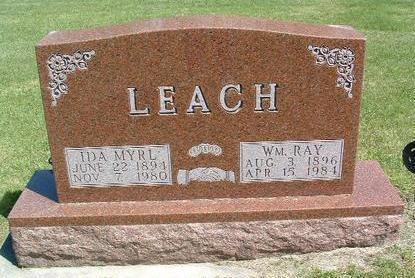 LEACH, WILLIAM RAY - Madison County, Iowa | WILLIAM RAY LEACH