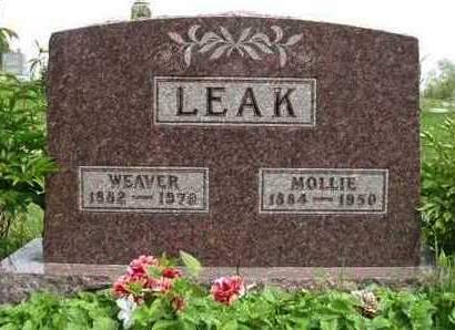 LEAK, MARY JANE