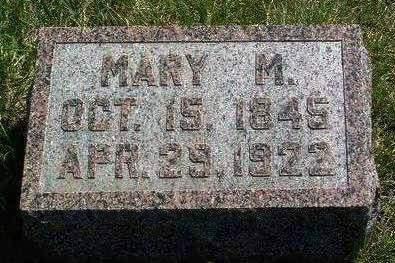 LEASMAN, MARY M. - Madison County, Iowa   MARY M. LEASMAN