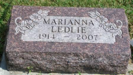 LEDLIE, MARIANNA - Madison County, Iowa | MARIANNA LEDLIE