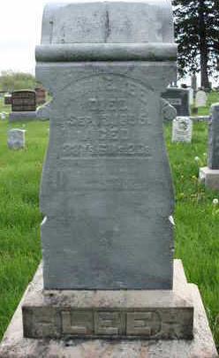 LEE, ANNA E. - Madison County, Iowa   ANNA E. LEE