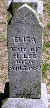 LEE, ELIZA - Madison County, Iowa | ELIZA LEE