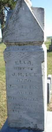 LEE, ELLA - Madison County, Iowa | ELLA LEE