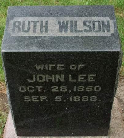 LEE, RUTH LEE - Madison County, Iowa | RUTH LEE LEE