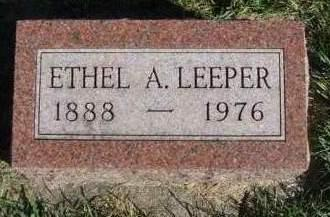 LEEPER, DORA ETHEL - Madison County, Iowa | DORA ETHEL LEEPER