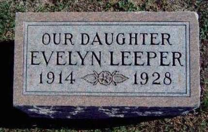 LEEPER, EVELYN MARIE - Madison County, Iowa | EVELYN MARIE LEEPER
