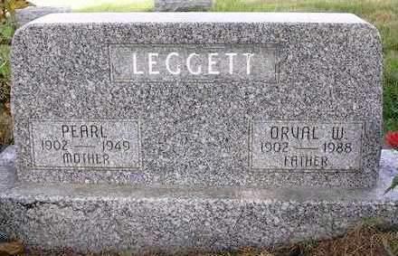 LEGGETT, ORVAL WILLIAM - Madison County, Iowa   ORVAL WILLIAM LEGGETT