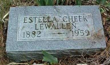CHEEK, ESTELLA MAY (STELLA) - Madison County, Iowa | ESTELLA MAY (STELLA) CHEEK