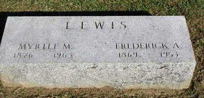 LEWIS, FREDERICK A.