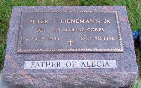 LIENEMANN, PETER THOMAS, JR. - Madison County, Iowa   PETER THOMAS, JR. LIENEMANN
