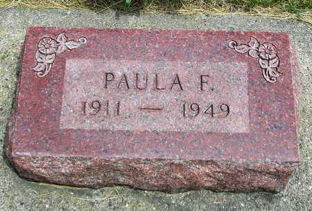 LILIE, PAULA FRIEDA M. - Madison County, Iowa | PAULA FRIEDA M. LILIE