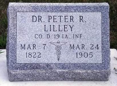 LILLEY, PETER RATSCHELER - Madison County, Iowa   PETER RATSCHELER LILLEY