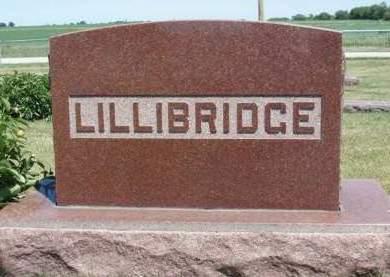LILLIBRIDGE, FAMILY STONE - Madison County, Iowa   FAMILY STONE LILLIBRIDGE