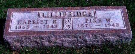 LILLIBRIDGE, HARRIET RACHEL - Madison County, Iowa | HARRIET RACHEL LILLIBRIDGE
