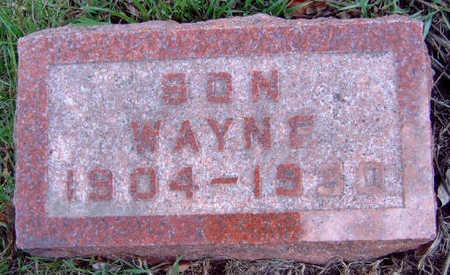 LILLIBRIDGE, FRANKLIN WAYNE - Madison County, Iowa   FRANKLIN WAYNE LILLIBRIDGE