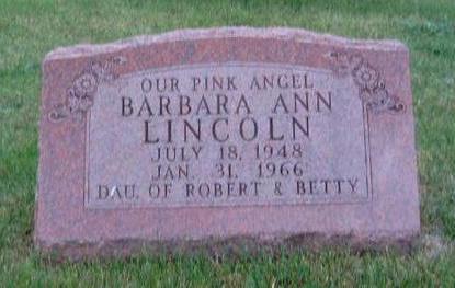 LINCOLN, BARBARA ANN - Madison County, Iowa | BARBARA ANN LINCOLN
