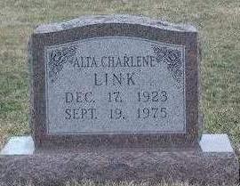 LINK, ALTA CHARLENE - Madison County, Iowa | ALTA CHARLENE LINK
