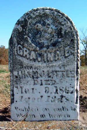 LITTLE, GRAVINA E. - Madison County, Iowa   GRAVINA E. LITTLE
