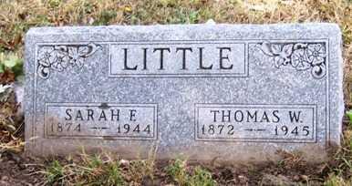 LITTLE, SARAH FRANCES - Madison County, Iowa | SARAH FRANCES LITTLE