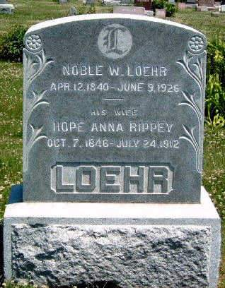 LOEHR, NOBEL WARRUM - Madison County, Iowa | NOBEL WARRUM LOEHR
