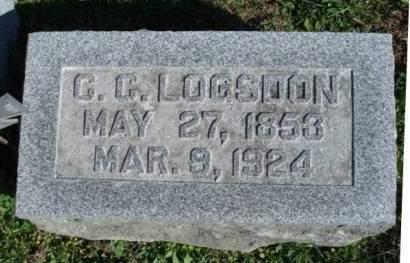 LOGSDON, CHRISTOPHER COLUMBUS - Madison County, Iowa | CHRISTOPHER COLUMBUS LOGSDON