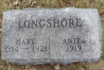 LONGSHORE, ANITA - Madison County, Iowa | ANITA LONGSHORE