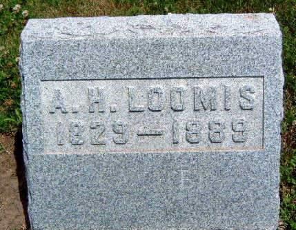 LOOMIS, AUGUSTUS H - Madison County, Iowa | AUGUSTUS H LOOMIS
