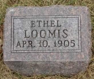 LOOMIS, ETHEL - Madison County, Iowa | ETHEL LOOMIS