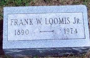 LOOMIS, FRANCIS WILLIAM, JR. - Madison County, Iowa   FRANCIS WILLIAM, JR. LOOMIS