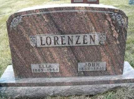 LORENZEN, JOHN H - Madison County, Iowa | JOHN H LORENZEN