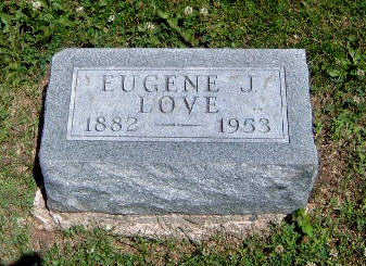 LOVE, EUGENE J. - Madison County, Iowa | EUGENE J. LOVE