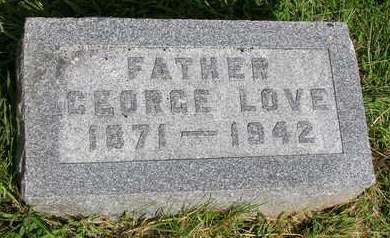 LOVE, GEORGE - Madison County, Iowa   GEORGE LOVE