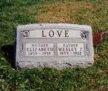 LOVE, WESLEY PIERCE - Madison County, Iowa | WESLEY PIERCE LOVE
