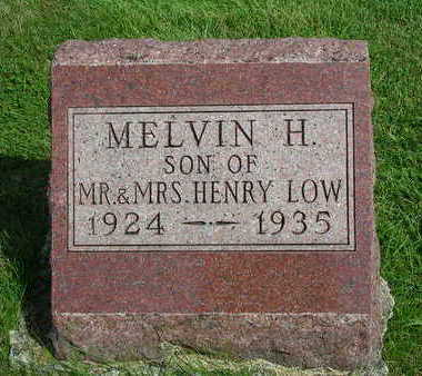 LOW, MELVIN HENRY - Madison County, Iowa | MELVIN HENRY LOW