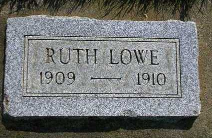 LOWE, RUTH - Madison County, Iowa   RUTH LOWE