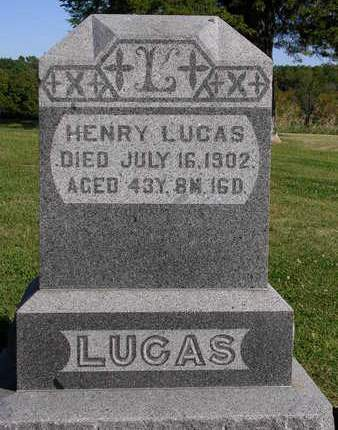LUCAS, HENRY - Madison County, Iowa   HENRY LUCAS