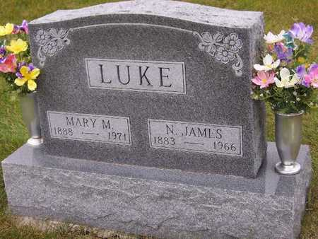 LUKE, MARY MOLLIE - Madison County, Iowa   MARY MOLLIE LUKE