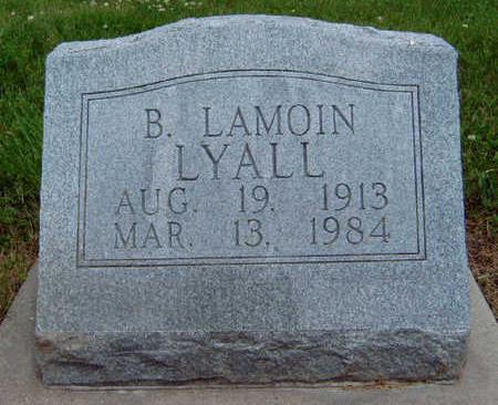 LYALL, BERTHAL LAMOIN - Madison County, Iowa   BERTHAL LAMOIN LYALL